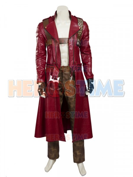 Devil May Cry III 3 Dante Cosplay Costume