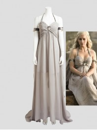 Game of Thrones A Song of Ice and Fire Daenerys Targaryen Cosplay Costume