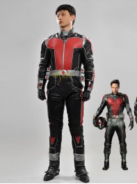 Marvel Comics Ant-man 2 Scott Lang Adult Superhero Cosplay Costume