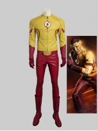 Newest The Flash 3 Kid Flash Cosplay Costume