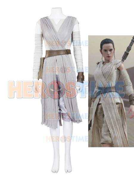 Star Wars Rey Movie Cosplay Costume