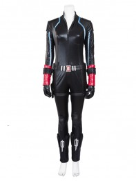 Newest The Avengers Black Widow Superhero Cosplay Costume