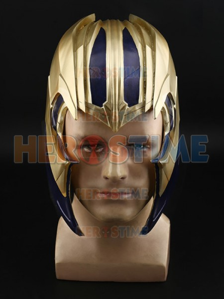 Thanos Helmet Avengers Endgame Cosplay PVC Cosplay Mask