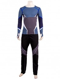 The Avengers 2 Quicksilver Superhero Cosplay Costume
