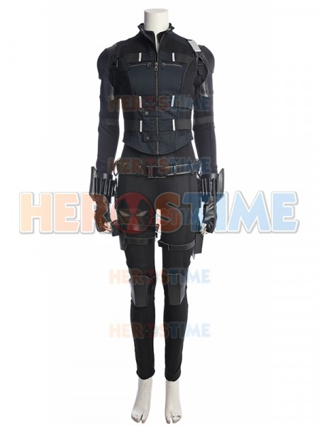The Avengers Black Widow Cosplay Costume Upgraded Version