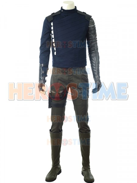 Winter Soldier Costume Avengers Infinity War Version Deluxe Costume