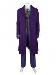 The Dark Knight Rises Joker Winter Thicken Cosplay Costume