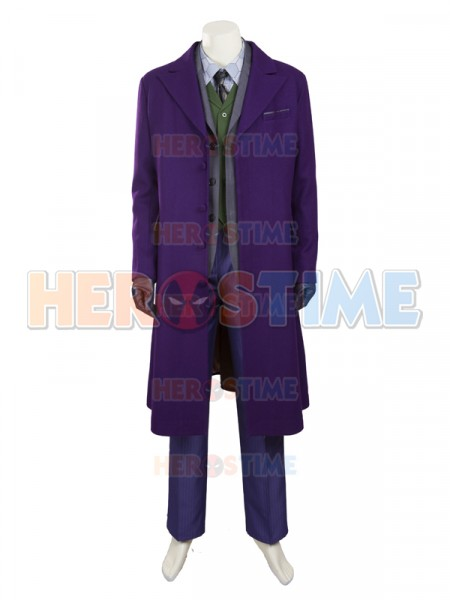 The Dark Knight Rises Joker Winter Thicken Cosplay Costume