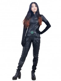 X-men Black Version Rogue Superhero Cosplay Costume