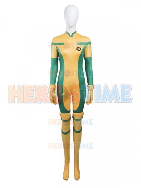 X-men Rogue Cosplay Superhero Catsuit