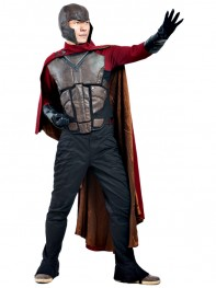 X-men Young Magneto Deluxe Superhero Cosplay Costume