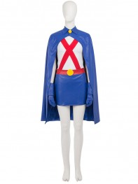 Young Justice Miss Martian Female Superhero Cosplay Costume