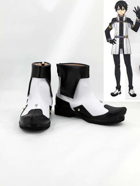 Sword Art Online Kirigaya Kazuto Cosplay Boots