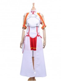 Sword Art Online Yuuki Asuna Girls Cosplay Costume