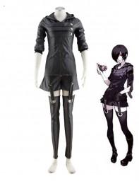 Tokyo Ghoul Touka Kirishima Ghouls Fighting Uniform Cosplay Costume