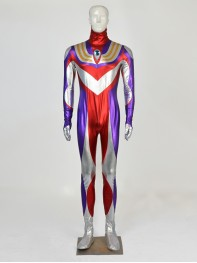 Ultraman Tiga Mens Halloween Cospaly Costume