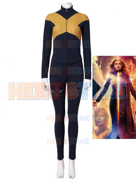 X-Men: Dark Phoenix  Traje Superior de Mystique (Raven Darkholme) para Cosplay
